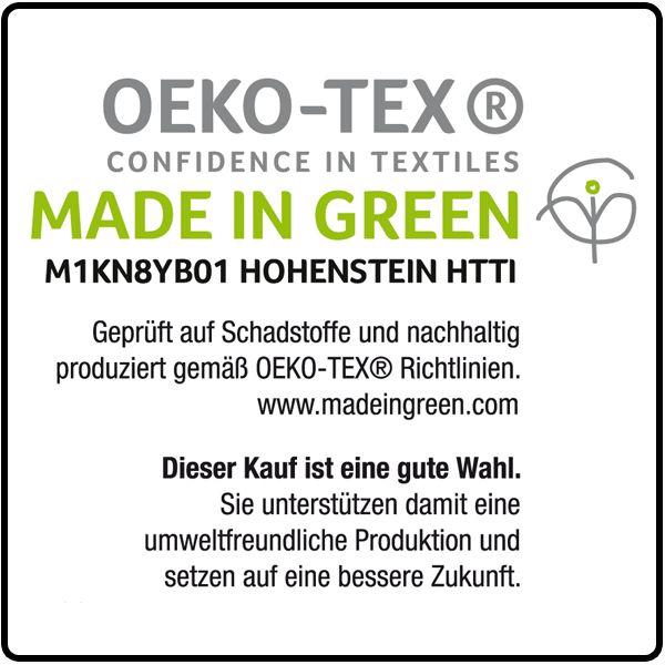 OEKO-TEX Made in green